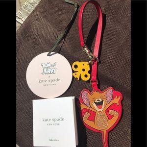 Brand New Kate Spade Tom & Jerry Keychain 🎀